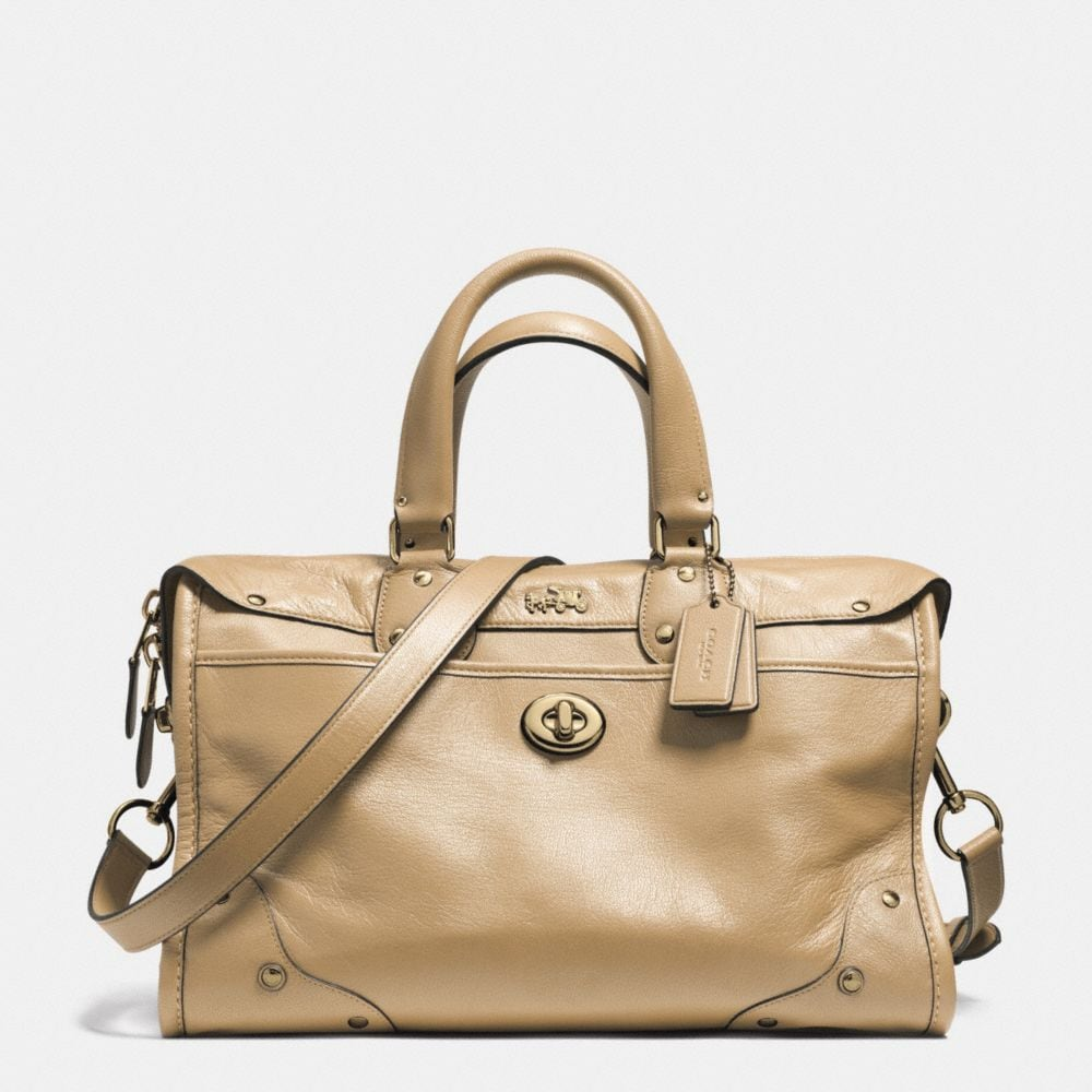 RHYDER SATCHEL IN LEATHER