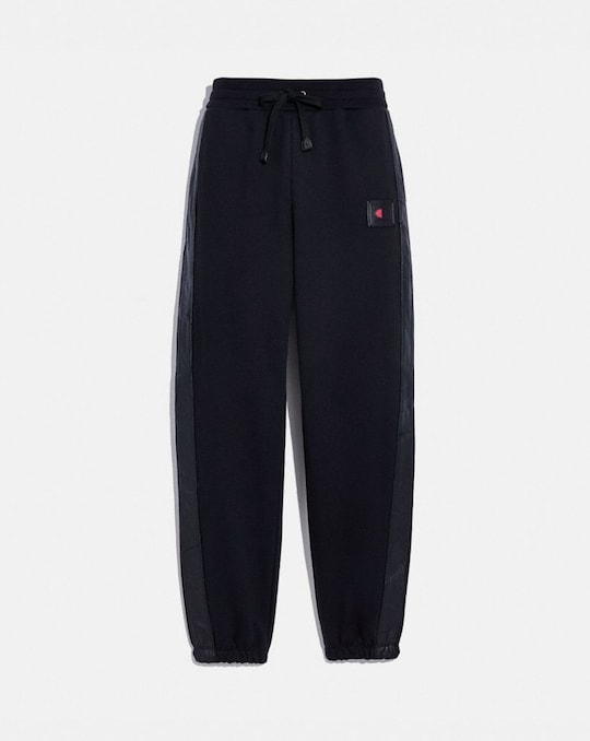 COACH X CHAMPION SWEATPANTS