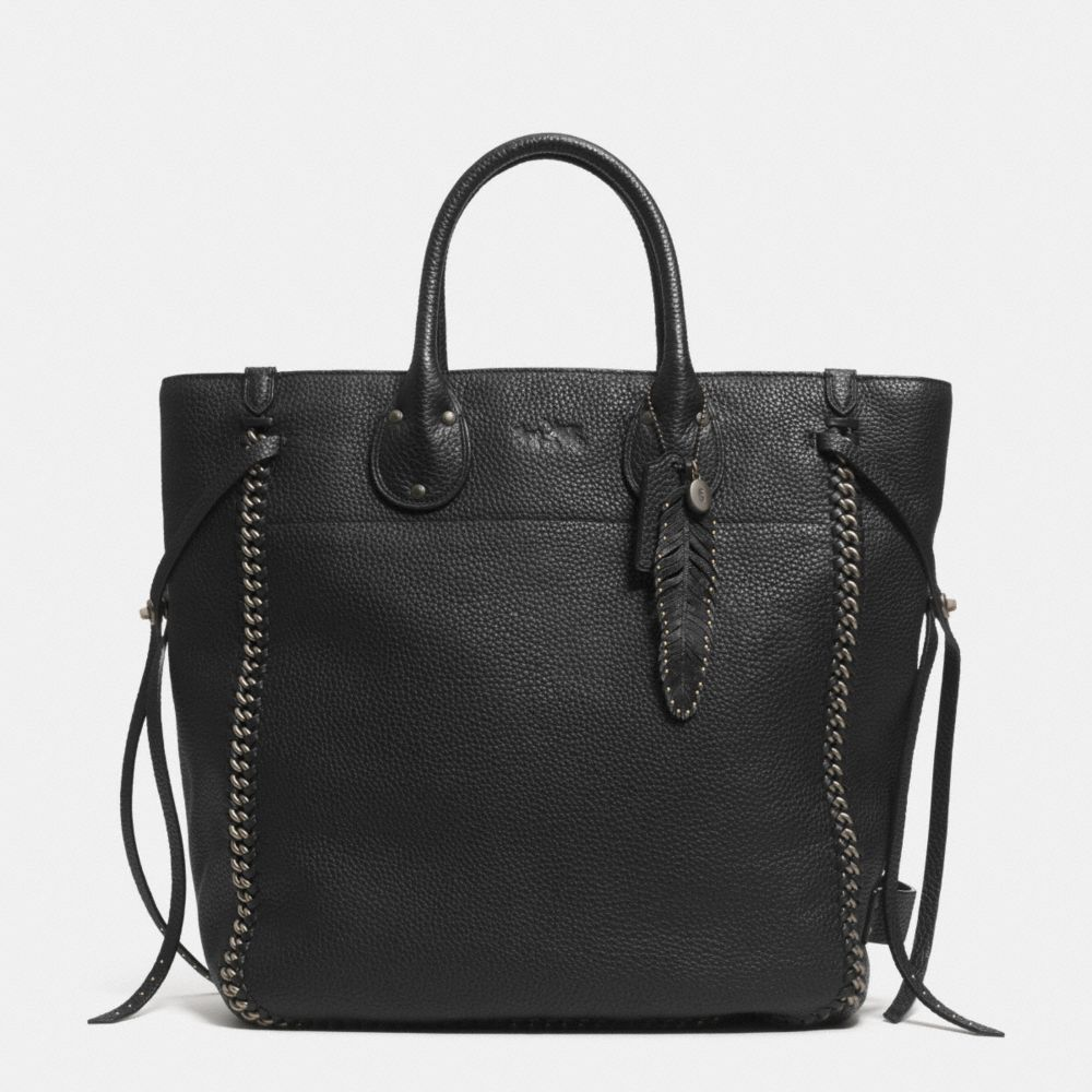 TALL TATUM TOTE IN LEATHER
