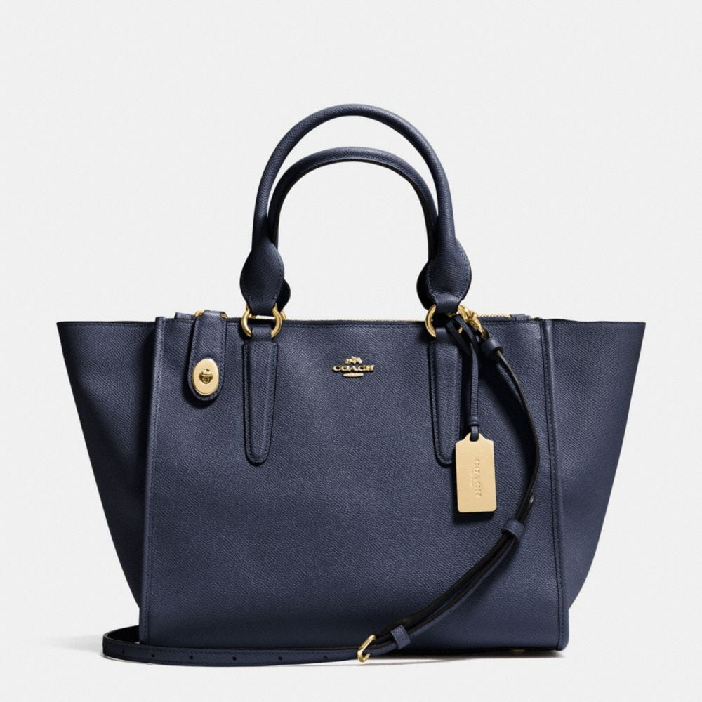 CROSBY CARRYALL IN CROSSGRAIN LEATHER