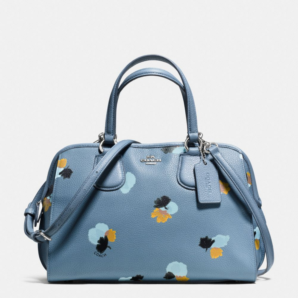 NOLITA SATCHEL IN FLORAL PRINT PEBBLE LEATHER