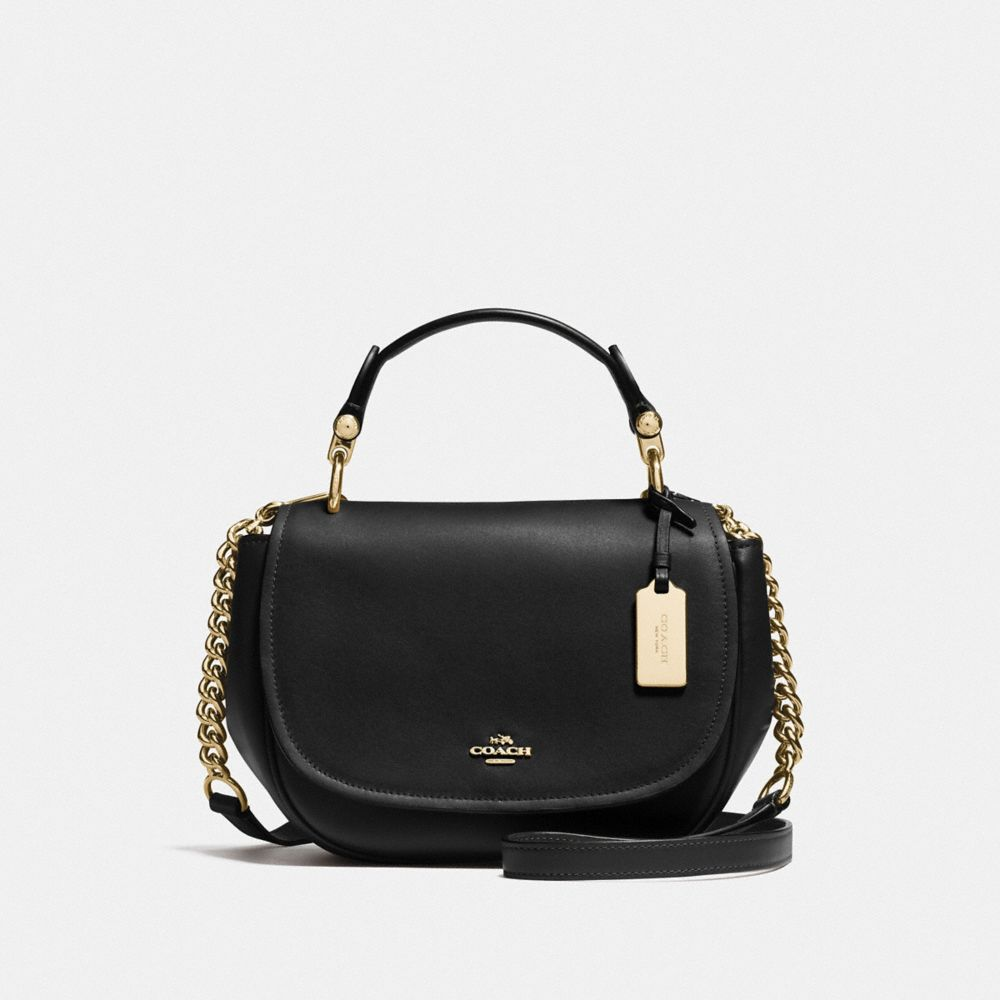 COACH NOMAD TOP HANDLE CROSSBODY IN GLOVETANNED LEATHER