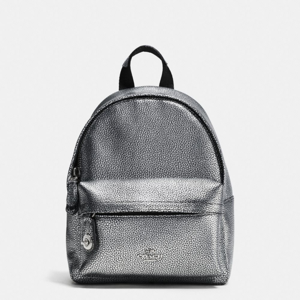 MINI CAMPUS BACKPACK IN PEBBLE LEATHER