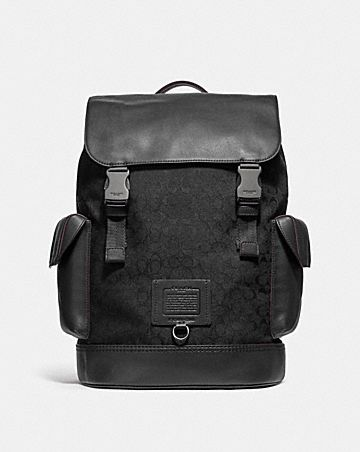 RIVINGTON BACKPACK IN SIGNATURE JACQUARD