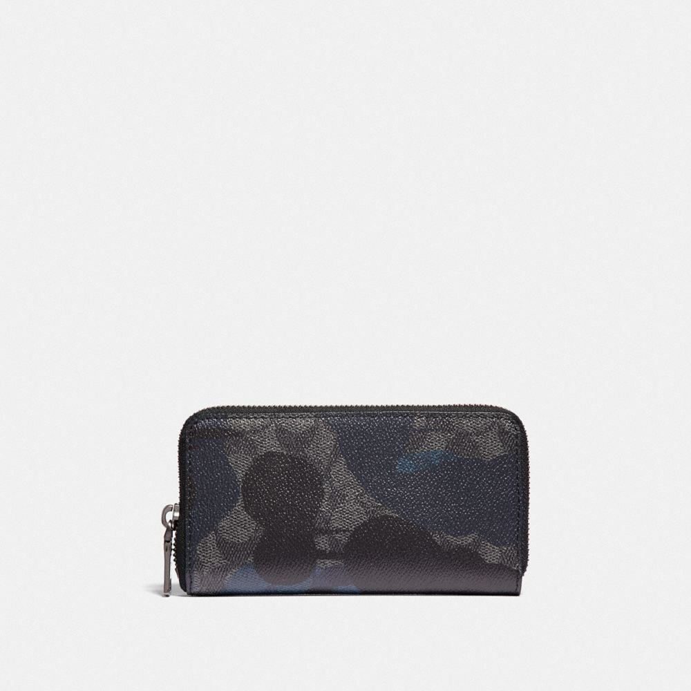 ZIP AROUND PHONE WALLET IN SIGNATURE WILD BEAST PRINT