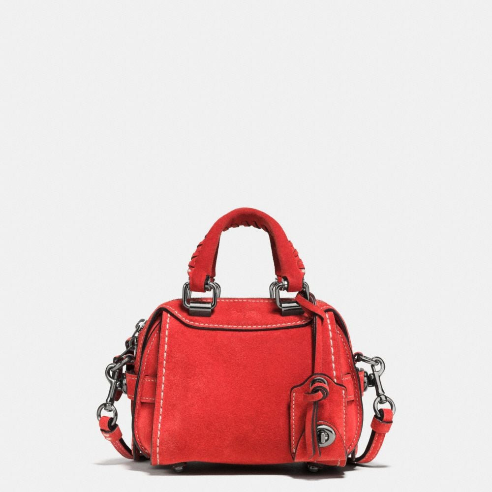 ACE SATCHEL 14 IN SUEDE