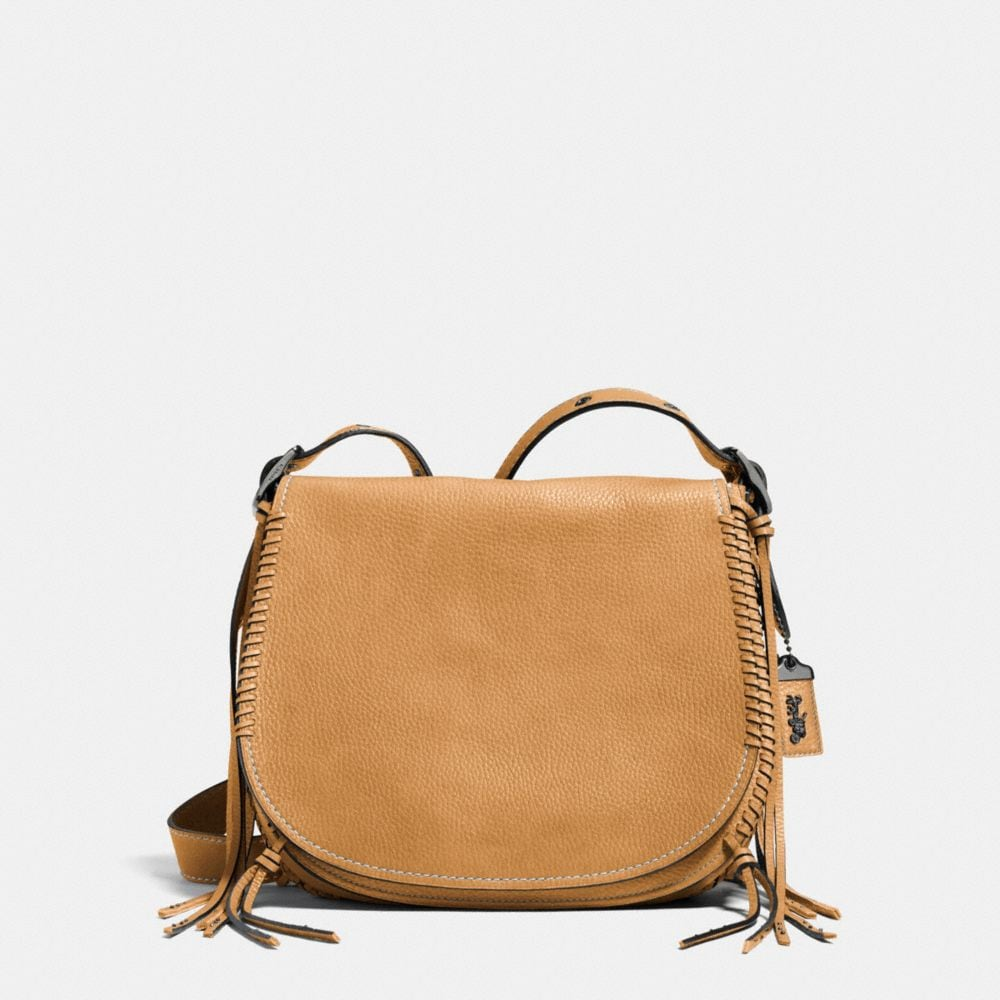 WHIPLASH SADDLE BAG IN LEATHER