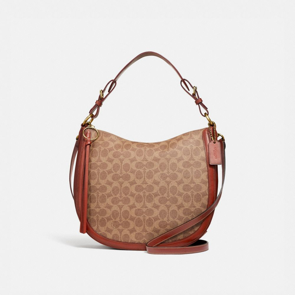 women s shoulder bags coach rh coach com  coach parker shoulder bag sale
