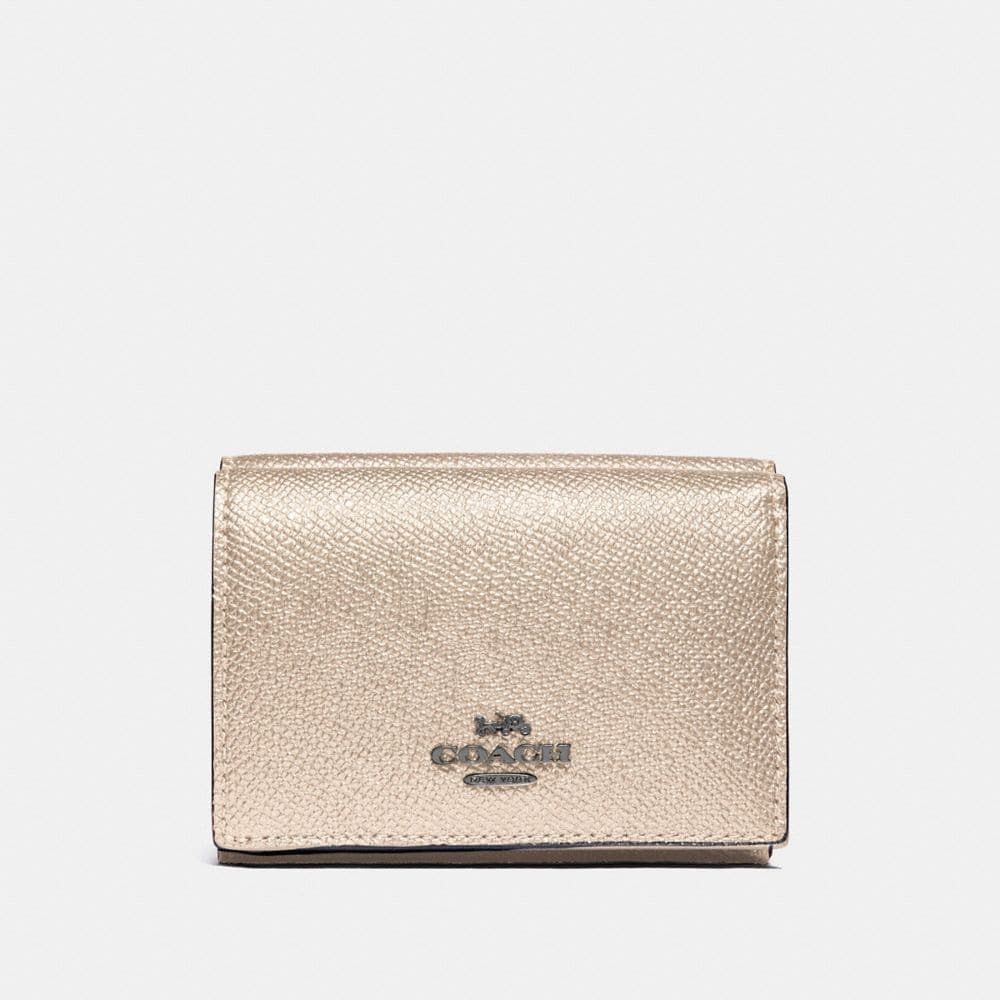 SMALL FLAP WALLET IN COLORBLOCK