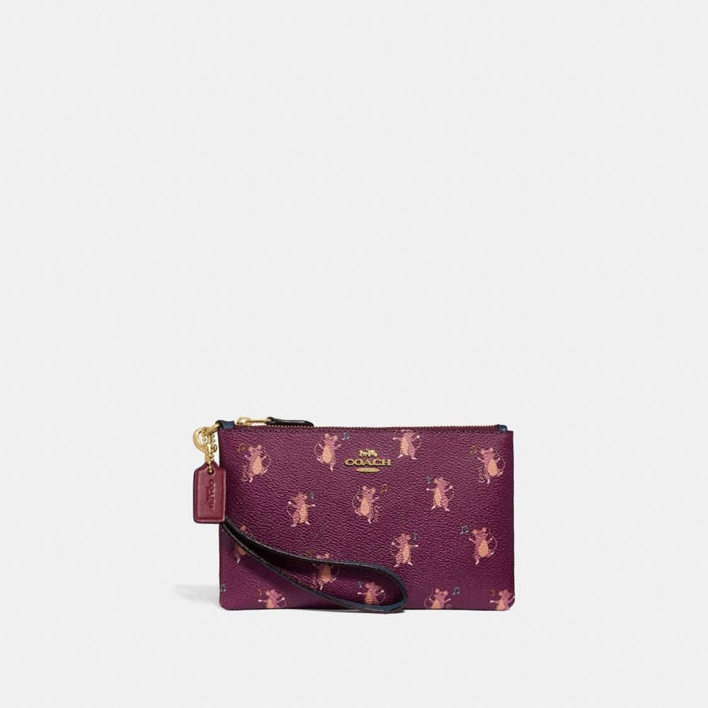 SMALL WRISTLET WITH PARTY MOUSE PRINT