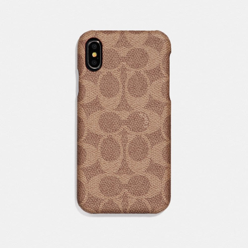 IPHONE XS MAX CASE IN SIGNATURE CANVAS