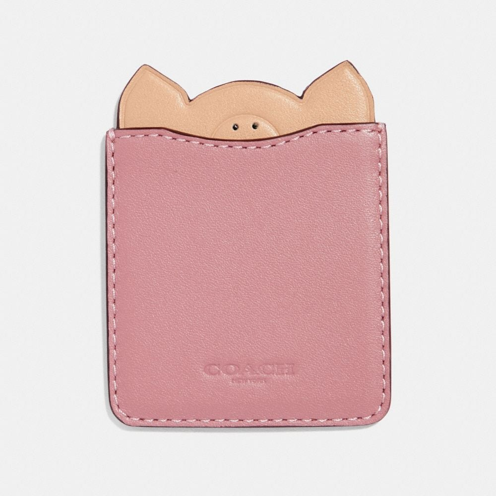 PIG PHONE POCKET STICKER