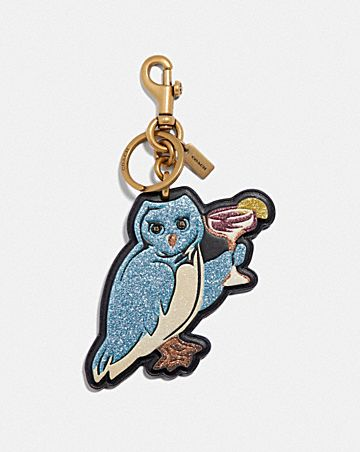 PARTY OWL BAG CHARM