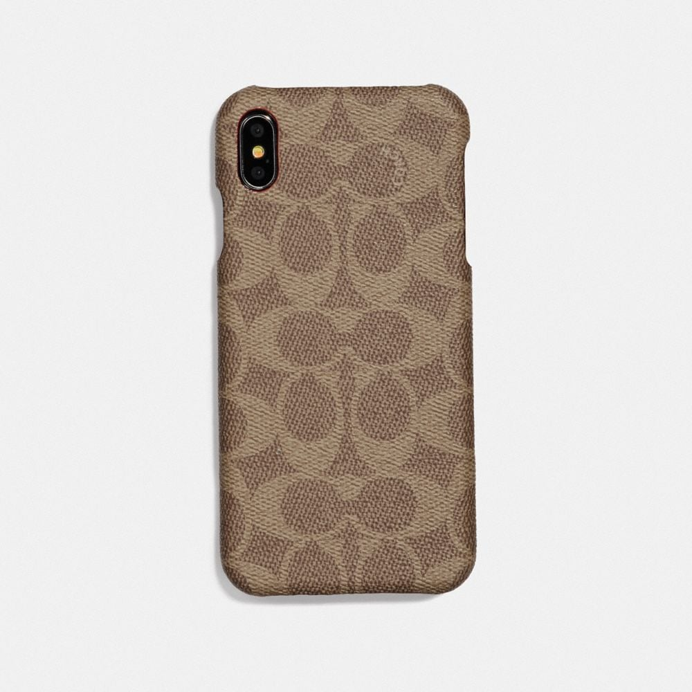 IPHONE XR CASE IN SIGNATURE CANVAS