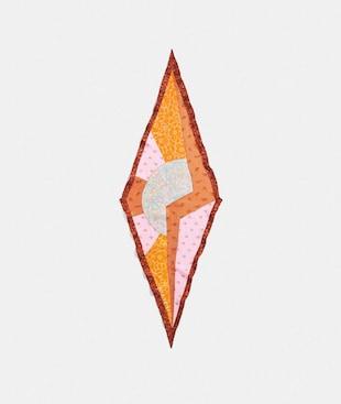 SUN WESTERN DIAMOND SCARF