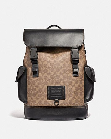 3bcce1b359d1 RIVINGTON BACKPACK IN SIGNATURE CANVAS ...