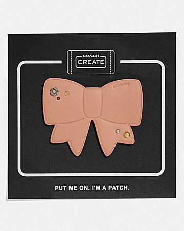 BOW SHOE PATCH