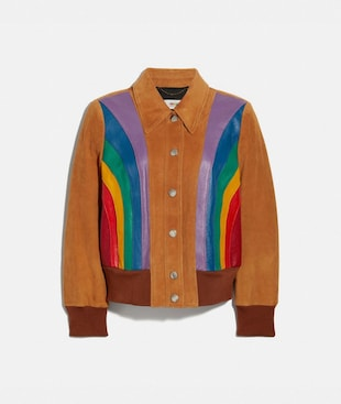 RAINBOW BLOUSON JACKET