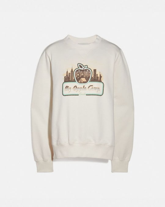 BIG APPLE CAMP NEW YORK CLASSIC CREWNECK