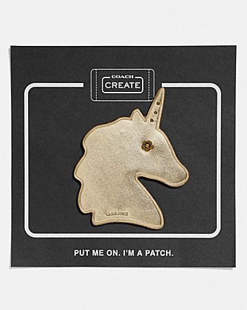 UNICORN SHOE PATCH