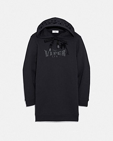 VIPER ROOM SWEATSHIRT DRESS