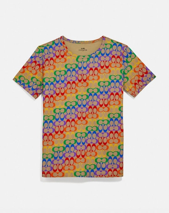 RAINBOW SIGNATURE T-SHIRT