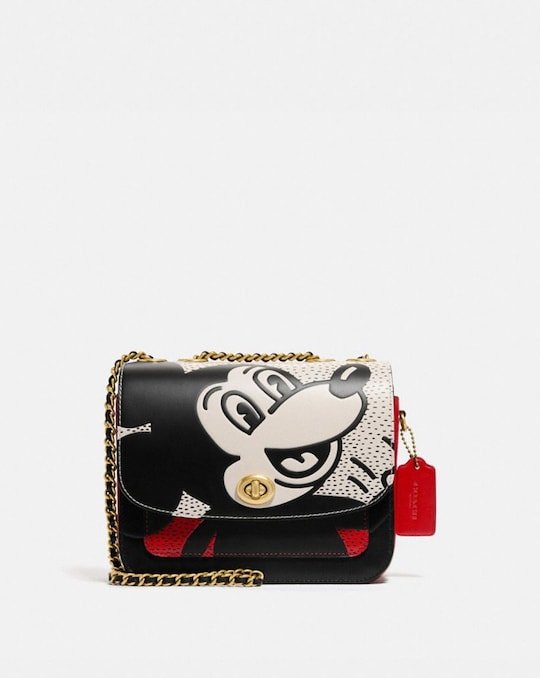 DISNEY MICKEY MOUSE X KEITH HARING MADISON SCHULTERTASCHE