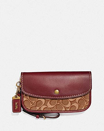 POCHETTE IN JACQUARD SIGNATURE