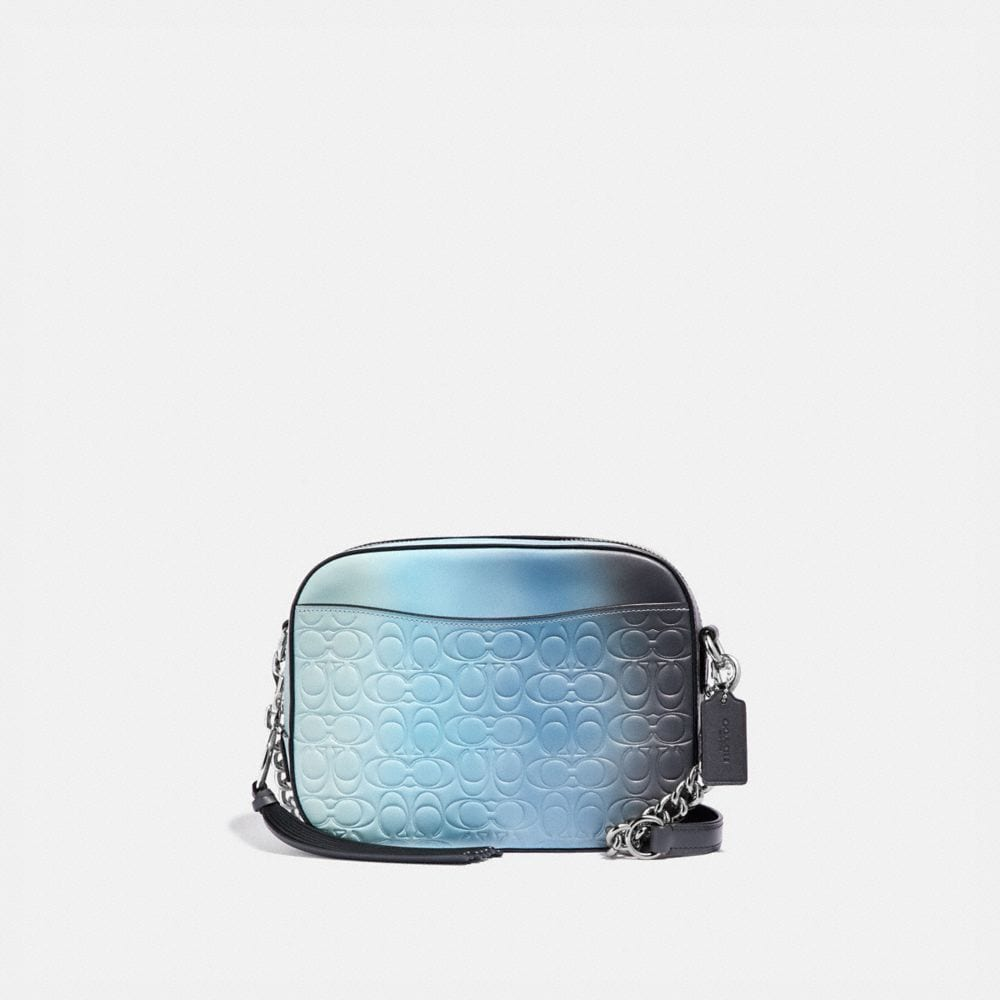 CAMERA BAG IN OMBRE SIGNATURE LEATHER