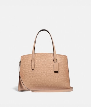 CHARLIE CARRYALL IN SIGNATURE LEATHER