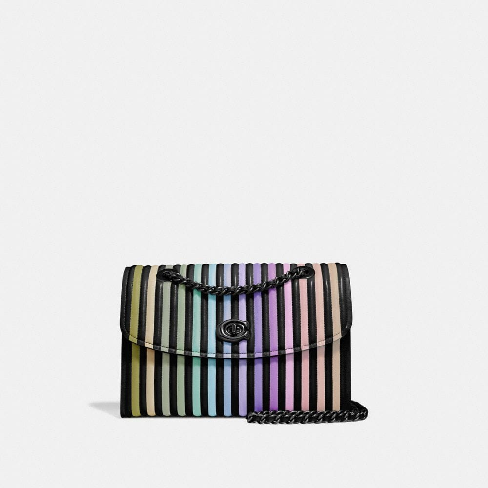 PARKER SHOULDER BAG WITH OMBRE QUILTING