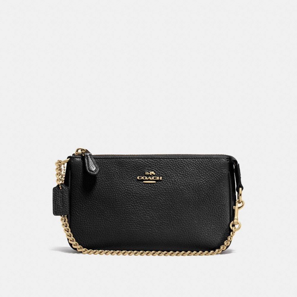 NOLITA WRISTLET 19 IN PEBBLE LEATHER