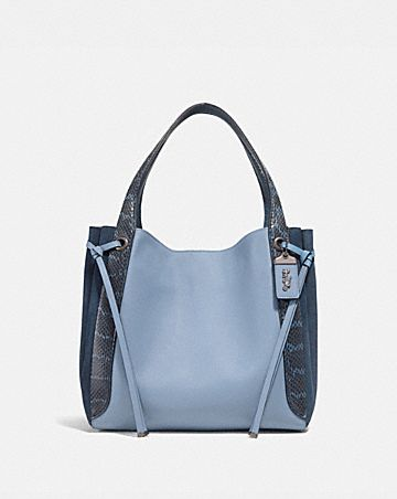 29337b8e58f HARMONY HOBO IN COLORBLOCK WITH SNAKESKIN DETAIL ...