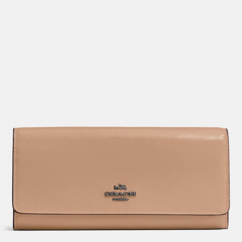 SLIM ENVELOPE WALLET IN SMOOTH LEATHER