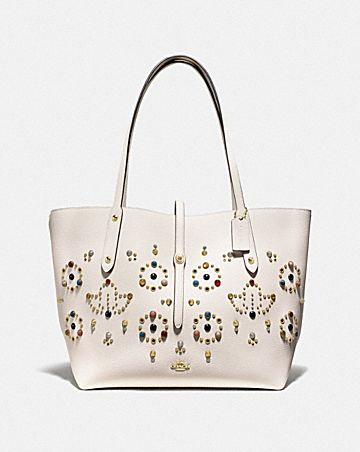MARKET TOTE WITH RIVETS