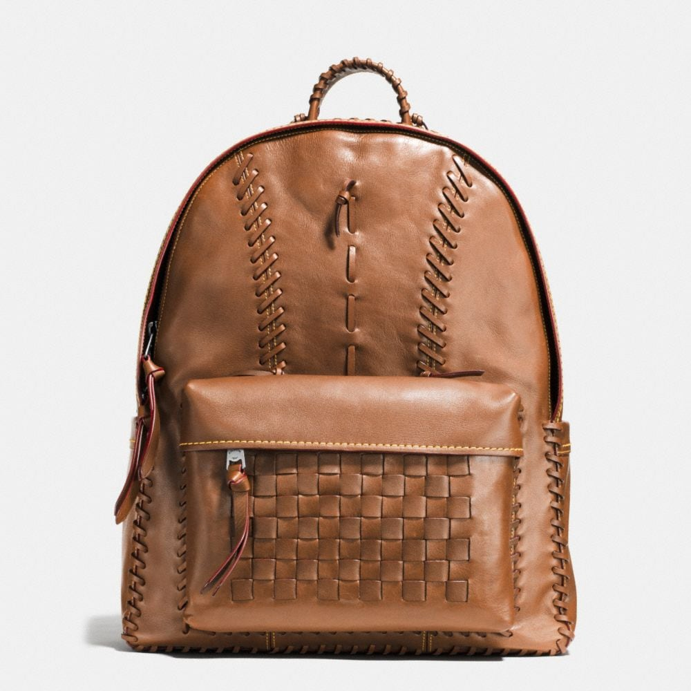 RIP AND REPAIR CAMPUS BACKPACK IN SPORT CALF LEATHER