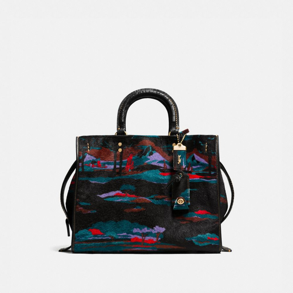 ROGUE BAG IN PRINTED HAIRCALF