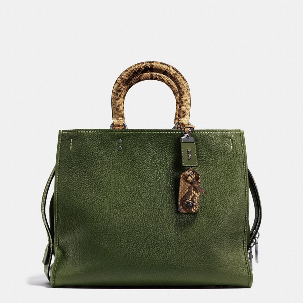 ROGUE BAG 36 IN COLORBLOCK PYTHON