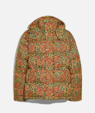 DISNEY MICKEY MOUSE X KEITH HARING DAUNENJACKE