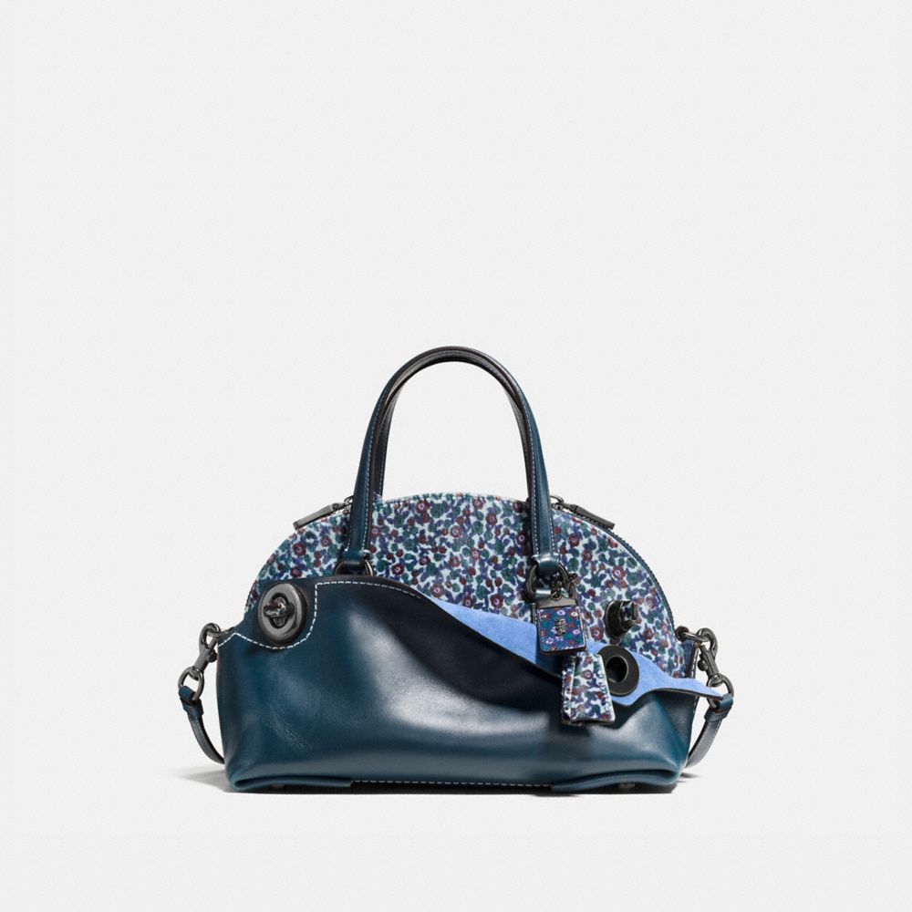 OUTLAW SATCHEL 36 IN PRINTED HAIRCALF