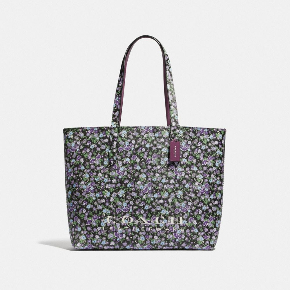 HIGHLINE TOTE MIT BLUMENPRINT