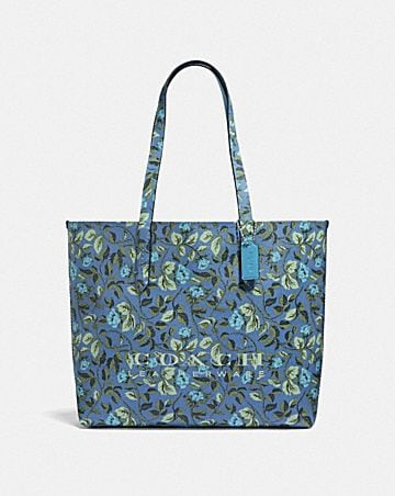 1efece6c12b HIGHLINE TOTE WITH FLORAL PRINT
