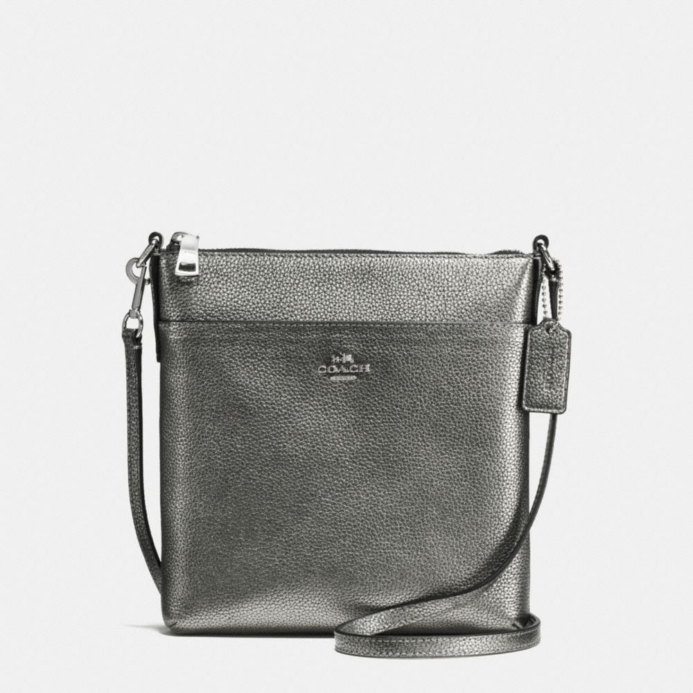 coach crossbody bag outlet 9t5p  MESSENGER CROSSBODY IN POLISHED PEBBLE LEATHER
