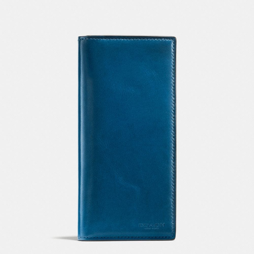 BREAST POCKET WALLET IN WATER BUFFALO LEATHER