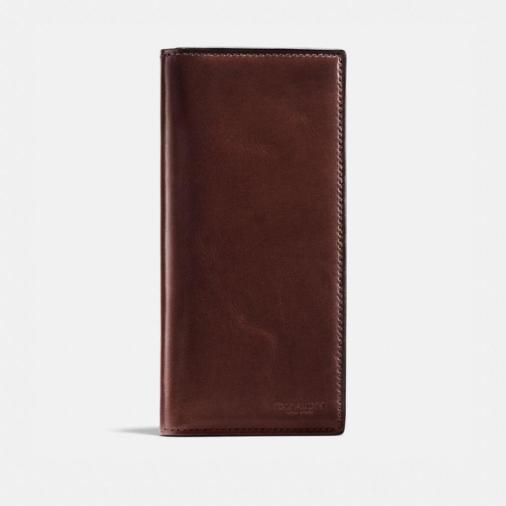 BOXED BREAST POCKET WALLET IN WATER BUFFALO LEATHER