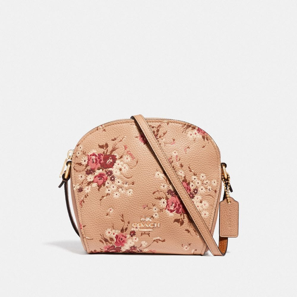 FARROW CROSSBODY WITH FLORAL PRINT
