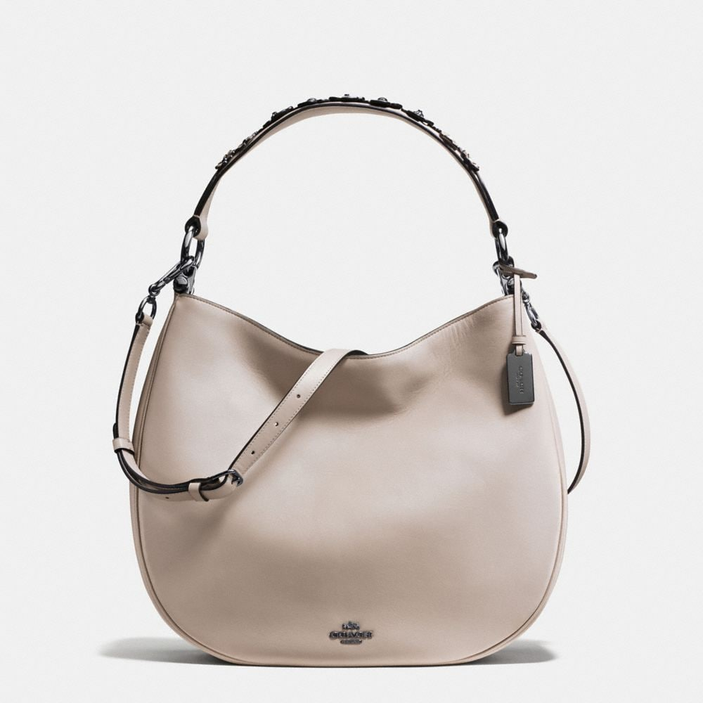 COACH NOMAD HOBO IN WILLOW FLORAL