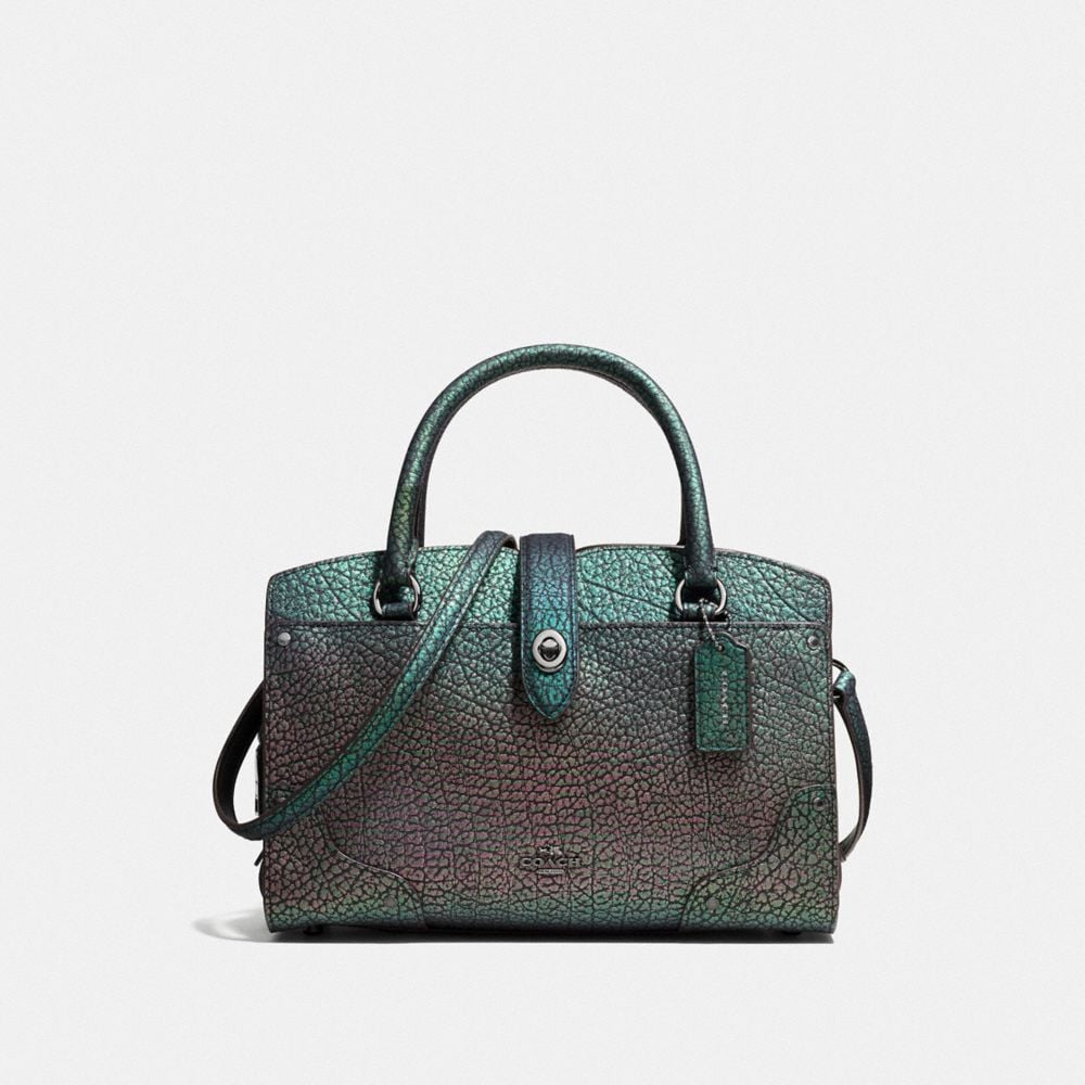 MERCER SATCHEL 24 IN HOLOGRAM LEATHER