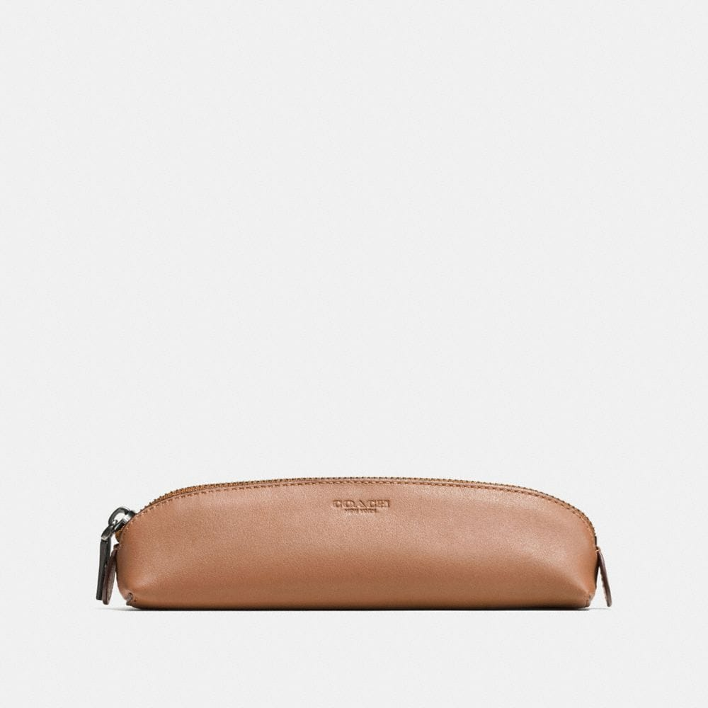 PENCIL CASE IN GLOVETANNED LEATHER