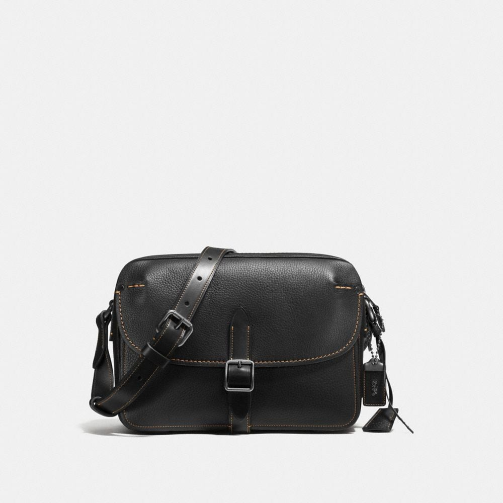 GOTHAM CROSSBODY IN PEBBLE LEATHER